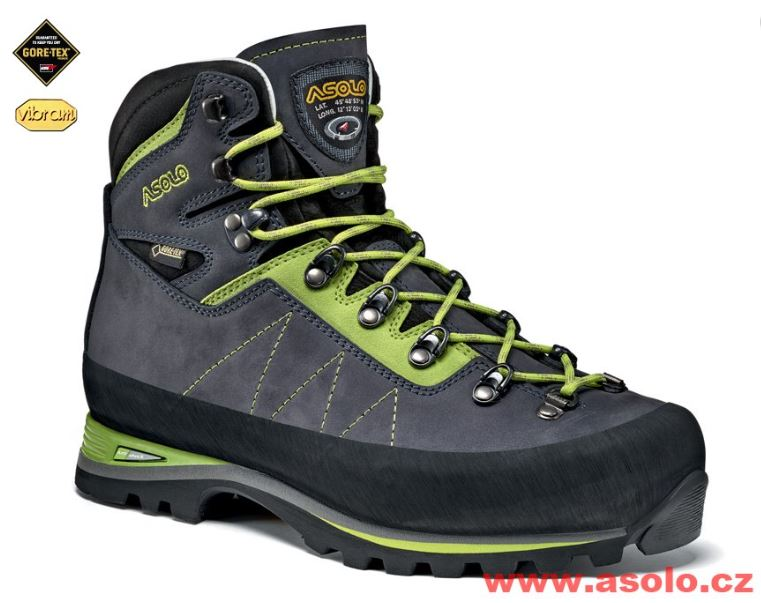 Asolo Lagazuoni GV navy blue/green lime A673
